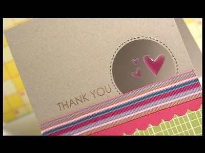 Thank You - Make a Card Monday #73