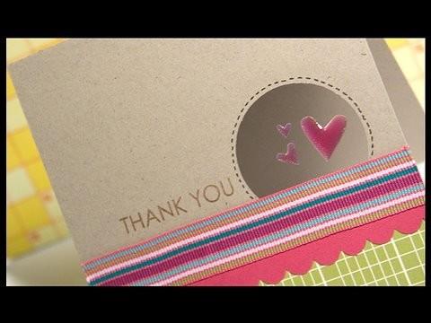Thank You - Make a Card Monday #73