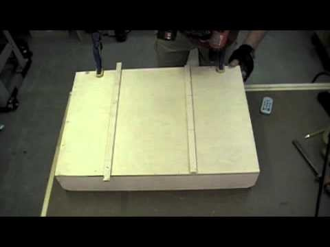 Woodworking Project - How to Make a Dado Sled for the Tablesaw