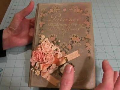 Altered Book - Junk Journal - Baby Album