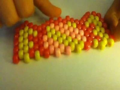 Candy Piece Peyote Stitch Tutorial 2