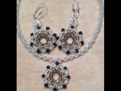 Circle Circle Earrings and Pendant Tutorial