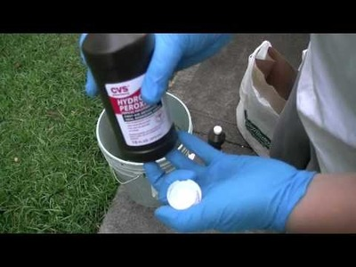 DR: how-to bleach a skull w. hydrogen peroxide and preserve it