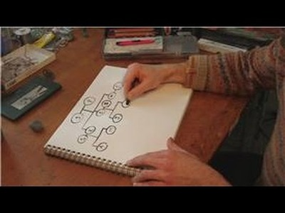 Drawing Practice : How to Draw a Simple Family Tree