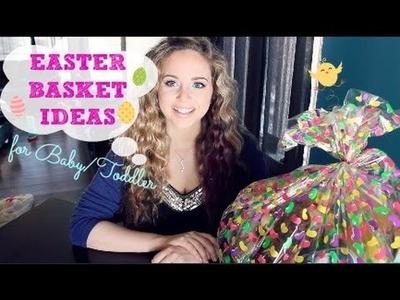 Easter Basket Ideas For Baby.Toddler || MickIsAMom