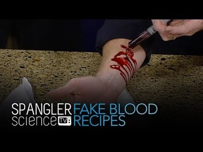 Fake Blood Recipes - Cool Science Experiment