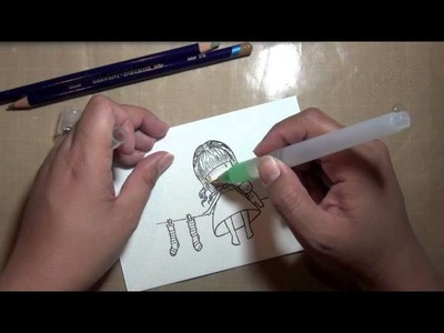 First Impression: Inktense Pencils