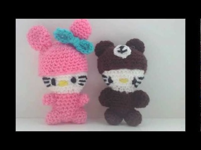 Hello kitty dolls, ring, dish, face cloths| Fresh off tha hook Thursday with Haylees Hats