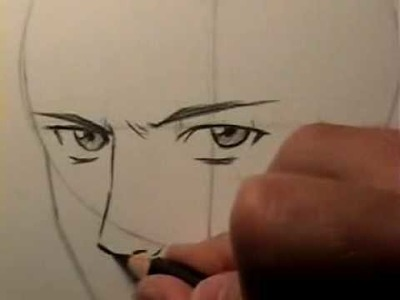 """How to Draw a """"Realistic"""" Manga Face [HTD Video #15]"""