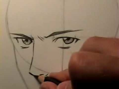 "How to Draw a ""Realistic"" Manga Face [HTD Video #15]"