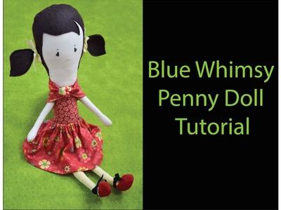 How to Make a Handmade Doll - Cloth Doll Tutorial 3.7