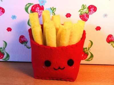 How to Make a Kawaii 'Fries' Plushie