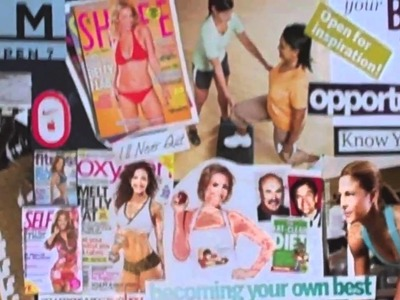 How to Make a Vision Board - Part 2