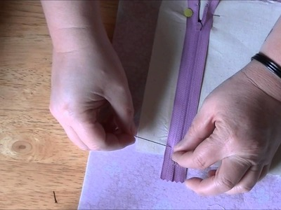 How to Make a Zipper Pocket (Inside Purse Pocket)