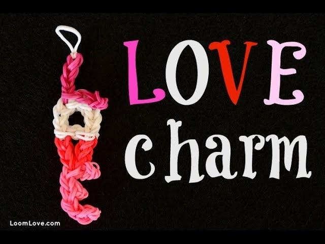 How to Make the Rainbow Loom LOVE Charm