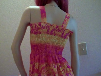 How to Sew a Tube Top Summer Dress (Super Easy)