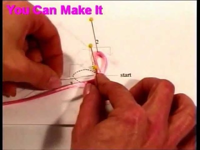 How to sew frogs