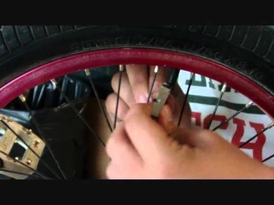 How to tighten a wheel quickly