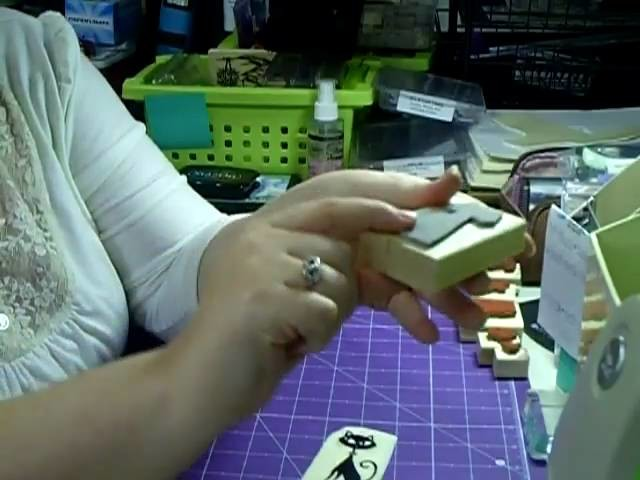 How to Unmount Wooden Rubber Stamps