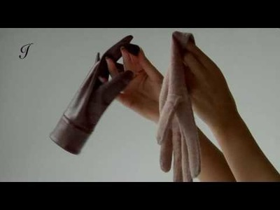 Ines Gloves - My Smart Double Leather Fashion Gloves