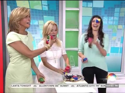 "Kathie Lee & Hoda: ""How to Juggle Three Balls"" YouTube video 7.18.2014"