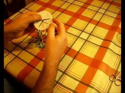Making friendship bracelets using a braiding disc