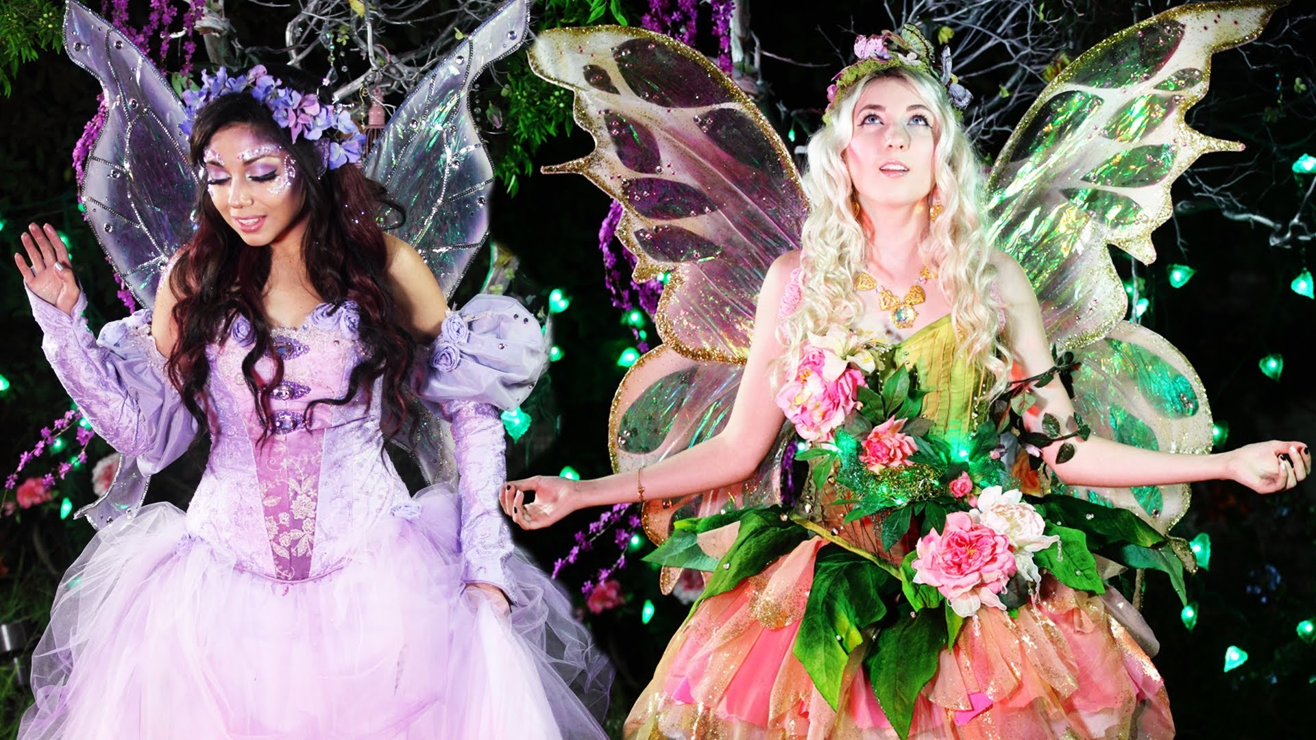 """Masquerade Ball Fairy"" Wardrobe TUTORIAL! (feat. CharismaStarTV)"