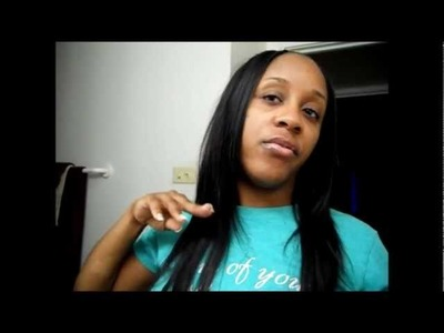 Milkyway Pure Sew-In (No Glue) Invisible Part Tutorial Part 1 of 3