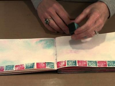 Mini Distress Ink Pads: Tips & Techniques! by Joggles.com
