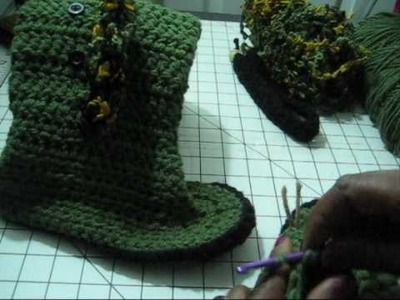 Part 2 Holiday Project Button Side Boots