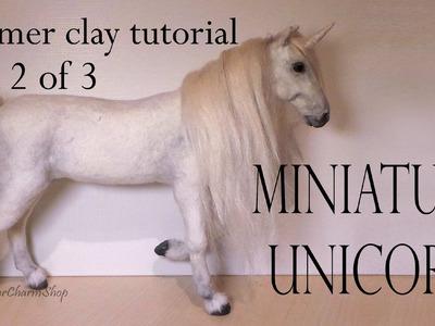 Polymer Clay Horse. Unicorn Tutorial Pt. 2 - (Body)
