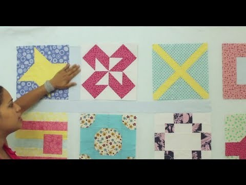 Quilt Sashing- How to Measure & Make it