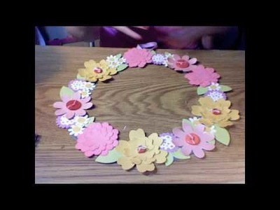 Spring Fling Series- Floral Wreath