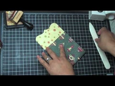 TUTORIAL: Creating Ornate Mini Album Pocket Page