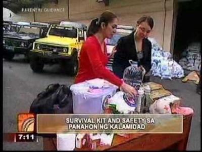 Umagang Kay Ganda Guesting - How to prepare for a Survival Kit