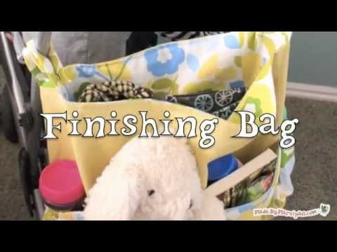 """Walk in the Park"" Stroller Bag Tutorial"