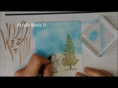 Watercolour Class. Step-by-step unique cards - Stampin Up.