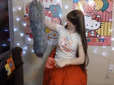 Yarn Tail: Easy Realistic Tail Tutorial Part 2