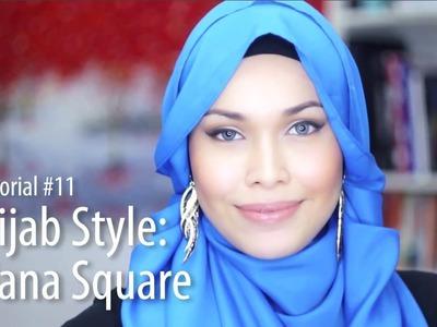 [Adlina Anis] Hijab Tutorial 11 | The Hana Square
