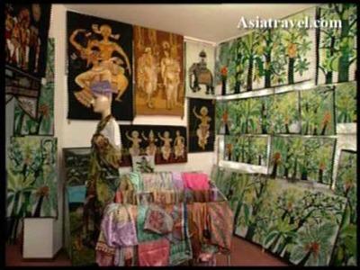 Batik Art, Sri Lanka by Asiatravel.com