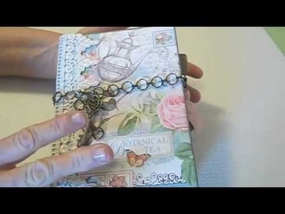 Botanical Tea Envelope Mini Album