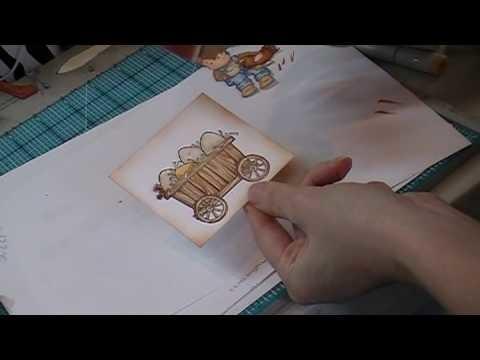 Card Making Process Video