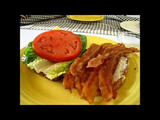 "Classic ""BLT"" Sandwich - How to make a Bacon, Lettuce & Tomato Sandwich"