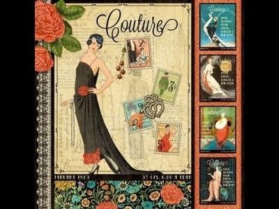 Couture Purse Mini Album