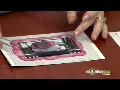Creating a Pressed Flower Frame-Under Photo