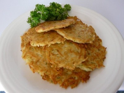 CRISPY FRIED POTATO CAKES - How to make FRIED POTATO CAKES recipe