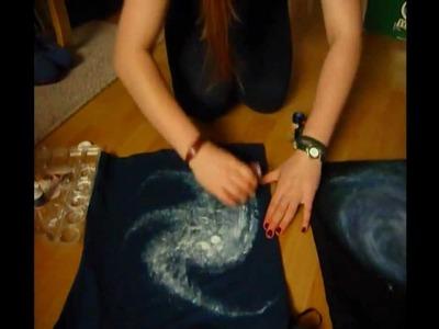 ✂ DIY- Galaxy-T-Shirt