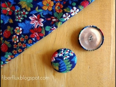 Episode 60: How to Make Fabric Covered Buttons