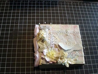 Floating Frame card with Box.Tutorial