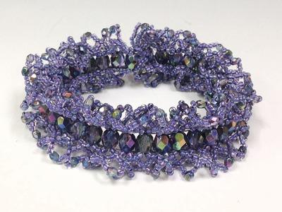 FREE Project: Ogalala Lace Bracelet